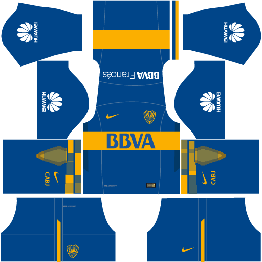 Kit-Boca-juniors-dls18-uniforme-home---casa