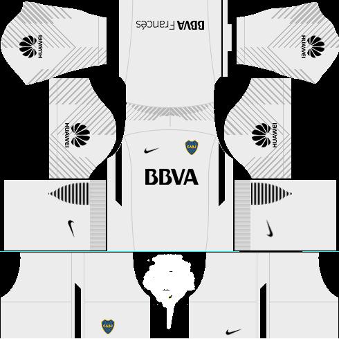 Kit-Boca-juniors-dls18-uniforme-third-Gk--terceiro-uniforme do goleiro