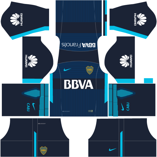 Kit-Boca-juniors-dls18-uniforme-third---terceiro-uniforme