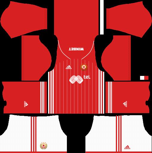 Kit CSKA Sofia dls home uniforme casa 18-19