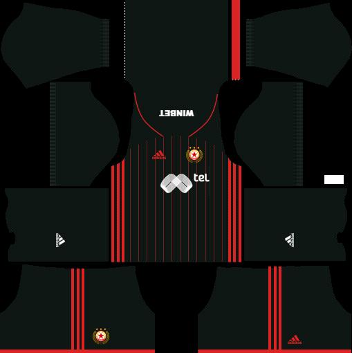 Kit CSKA Sofia dls third terceiro uniforme 18-19