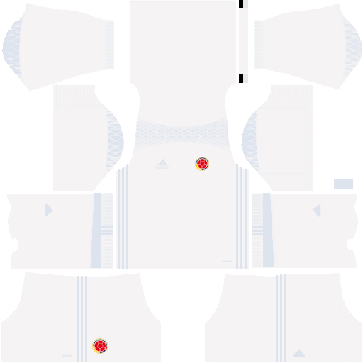 Kit Colombia dls17 alternative Gk - uniforme goleiro alternativo