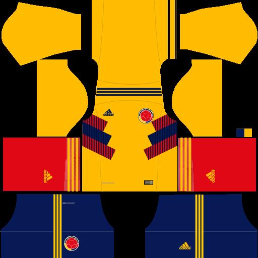 Kit-Colombia-dls18-home-alternativo--uniforme-casa-alternativo--copa-2018