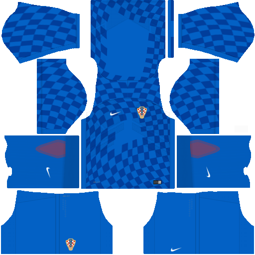 Kit Croácia - Croatia Away - uniforme fora de casa