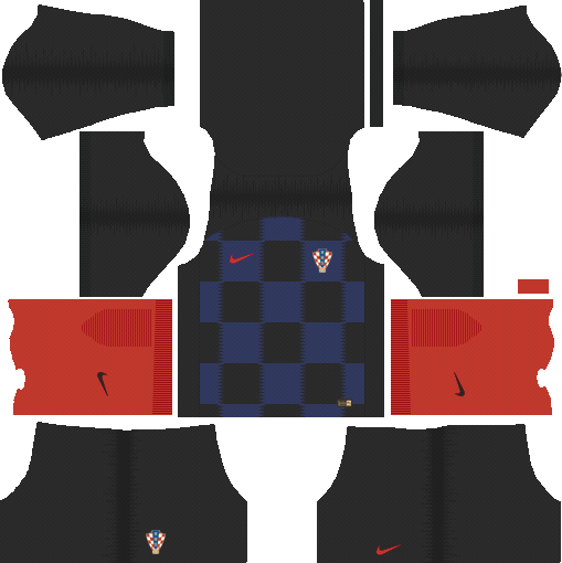 Kit Croácia - Croatia dls 18 -Away- uniforme fora de casa -World-Cup-2018