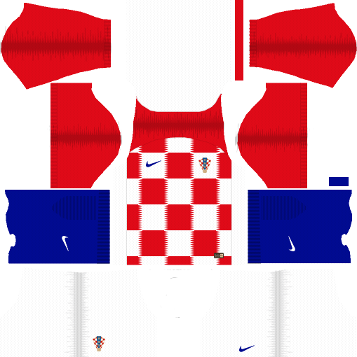 Kit Croácia - Croatia dls 18 -Home-uniforme casa -World-Cup-2018