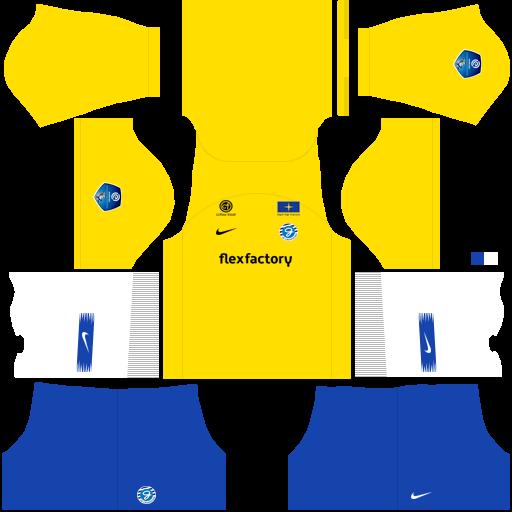 Kit Graafschap dls away uniforme fora de casa 18-19