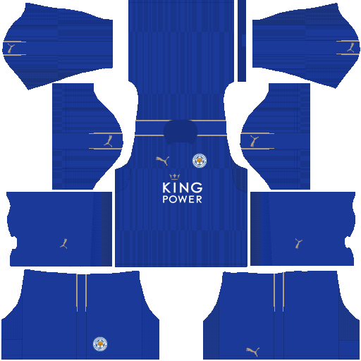 Kit Leicester City dls17 home - uniforme casa