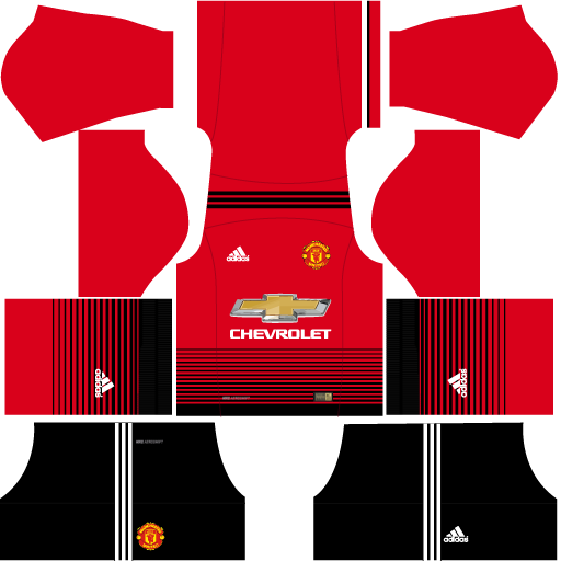 4625810d63 Kit Manchester United para Dream League Soccer atualize seu time agora