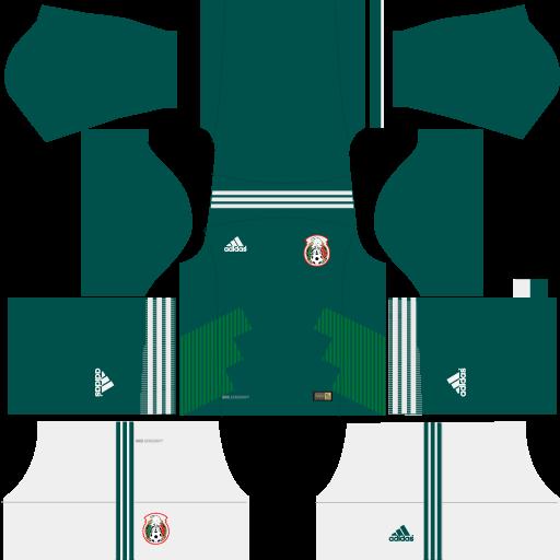 Kit-Mexico-dls18-home---uniforme-casa---copa-2018