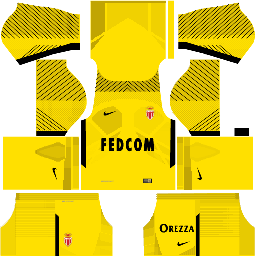 Kit-Monaco-dls17-away-Gk-uniforme-goleiro-fora-de-casa-17-18