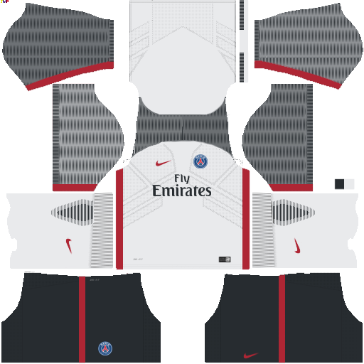 PSG Kit dls17 alternative uniform