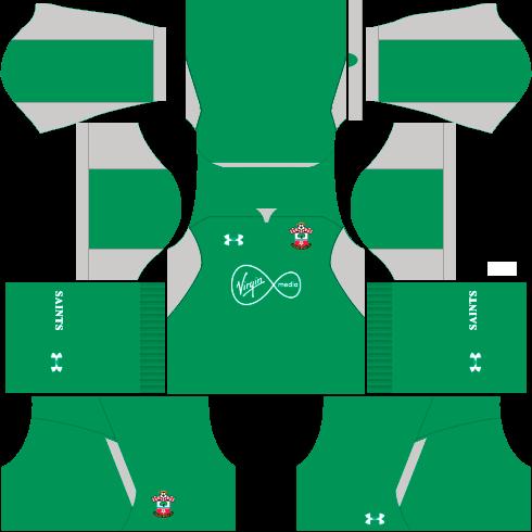 Kit-Southampton-FC-dls-away-Gk-uniforme-goleiro-fora-de-casa-18-19