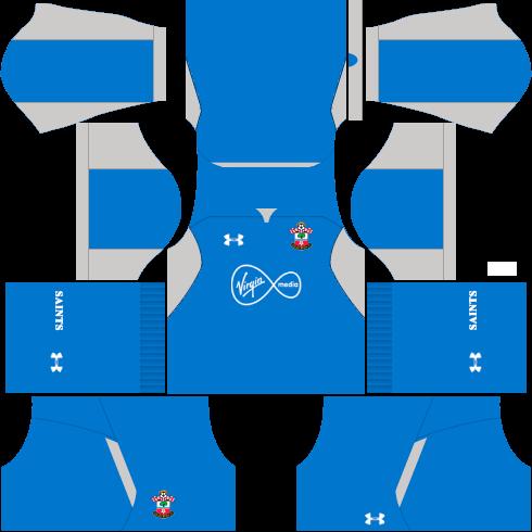Kit-Southampton-FC-dls-home-Gk-uniforme-goleiro-casa-18-19