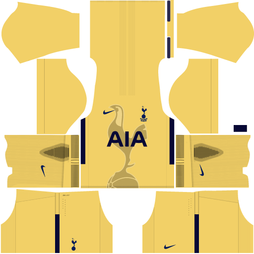 Kit-Tottenham-DLS 19-home-Gk--uniforme-goleiro-casa-17-18