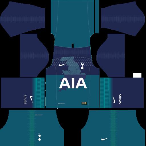 Kit-Tottenham-dls-18-third---terceiro-uniforme-18-19