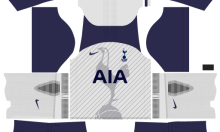 Kit Tottenham 2018 Novo Uniforme para DLS 18 – Dream League Soccer