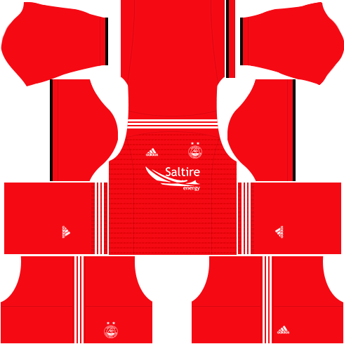 Kit aberdeen dls home uniforme casa-18-19