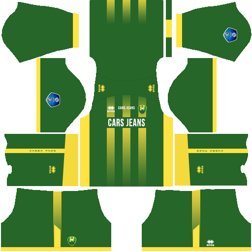 Kit ado den haag dls home uniforme casa 18-19