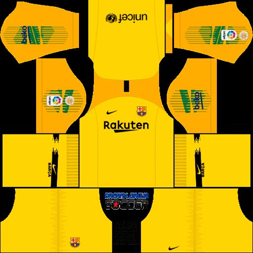 Kit-barcelona-DLS-fourth-Gk-quarto-uniforme-goleiro-18-19