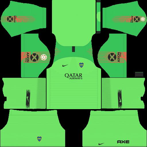 Kit-boca-juniors-dls-away-Gk-uniforme-Goleiro-fora-de-casa-18-19