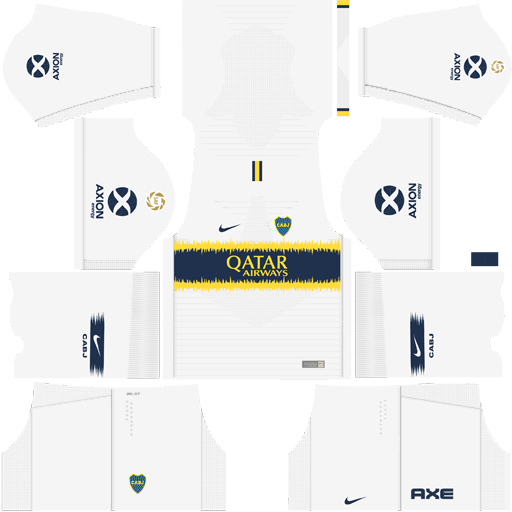 Kit Boca Juniors para DLS 19 - Dream League Soccer atualize