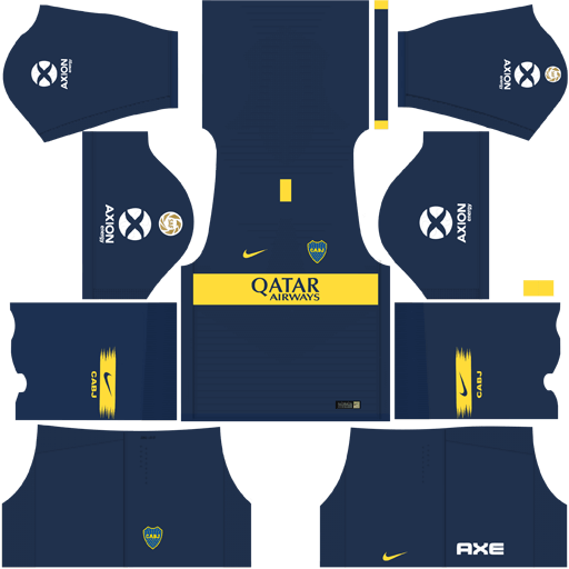 7531e49537 Kit Boca Juniors para DLS 19 - Dream League Soccer atualize já seu time