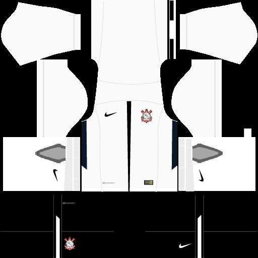 Kit-corinthians-dls17-uniforme-casa-17-18