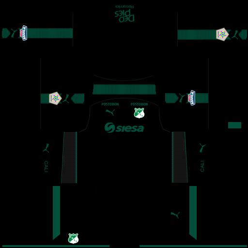Kit-deportivo-cali-dls-third-terceiro-uniforme-18-19