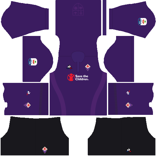 Kit fiorentina dls home uniforme casa 18-19