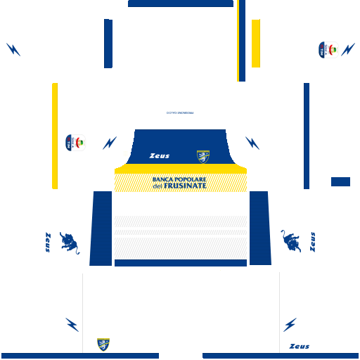 Kit frosinone dls away uniforme fora de casa 18-19