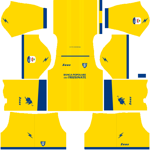 Kit frosinone dls home uniforme casa 18-19
