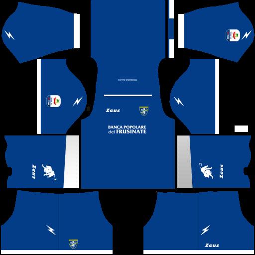 Kit frosinone dls third Gk terceiro uniforme goleiro 18-19