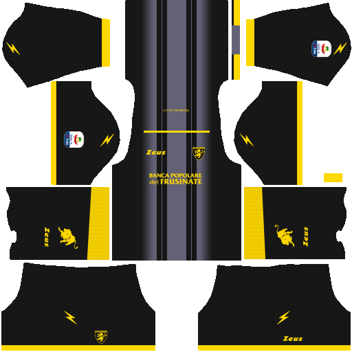Kit frosinone dls third terceiro uniforme 18-19