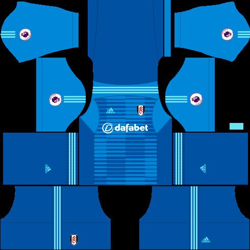 Kit-fulham-dls-away-Gk-uniforme-goleiro-fora-de-casa-18-19