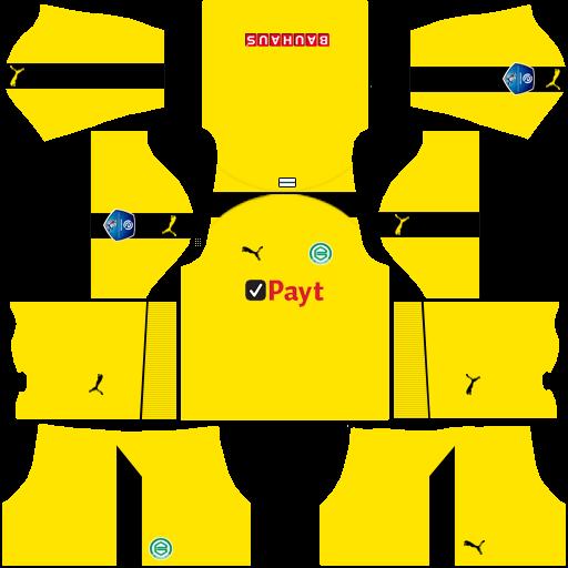 Kit groningen dls home Gk uniforme goleiro casa 18-19