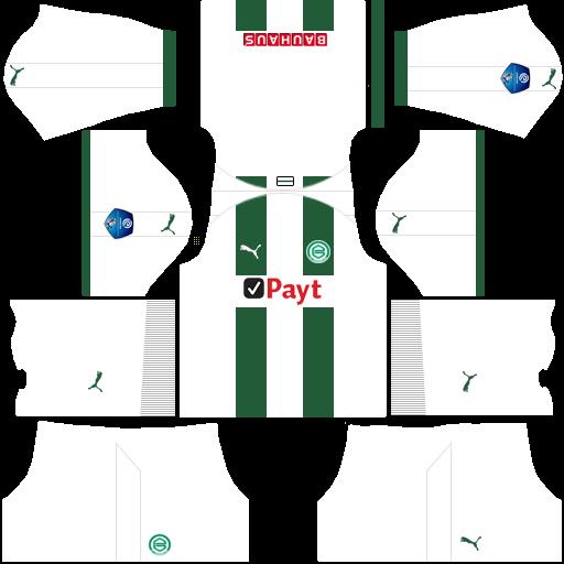 Kit groningen dls home uniforme casa 18-19