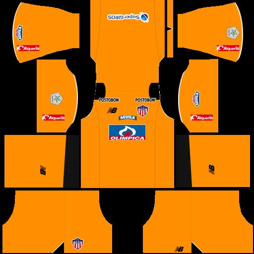 Kit-junior-dls-away-Gk-uniforme-goleiro-fora-de-casa-18-19