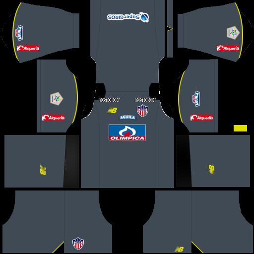Kit-junior-dls-home-Gk-uniforme-Goleiro-casa-18-19