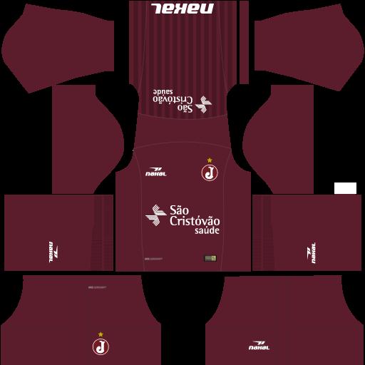 Kit-juventus-da-mooca-dls18-uniforme-casa-2018