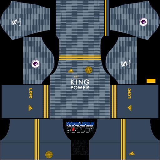 Kit-leicester-city-dls-away-uniforme-fora-de-casa-18-19
