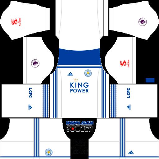 Kit-leicester-city-dls-third-terceiro-uniforme-18-19