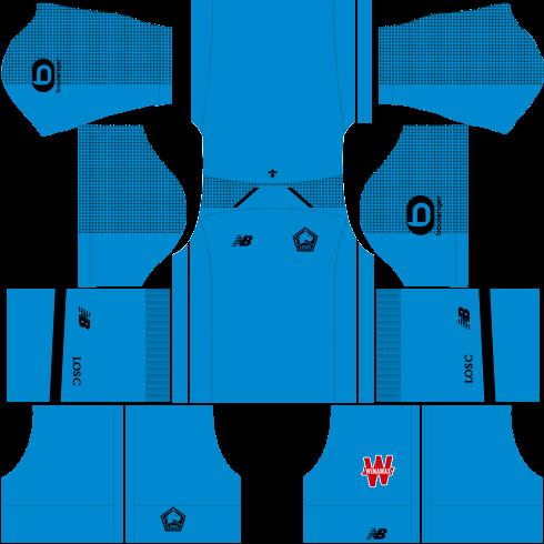 Kit-lille-dls-home-Gk-uniforme-goleiro-casa-18-19