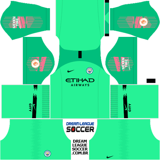 Kit-manchester-city-dls-away-Gk-uniforme-goleiro-fora-de-casa-18-19