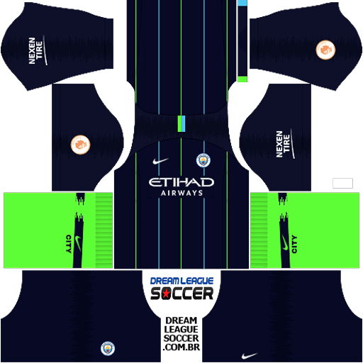 Kit-manchester-city-dls-away-uniforme-fora-de-casa-18-19