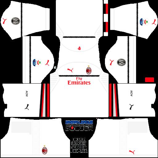 Kit-milan-dls-away-uniforme-fora-de-casa-18-19