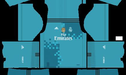 Kit Real Madrid 2018 novo uniforme para DLS 18 – Dream League Soccer