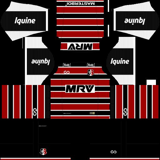 Kit-santa-cruz-dls18-home-uniforme-casa-18-19