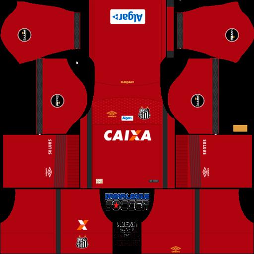 Kit-santos-dls-home-Gk-uniforme-goleiro-casa-18-19