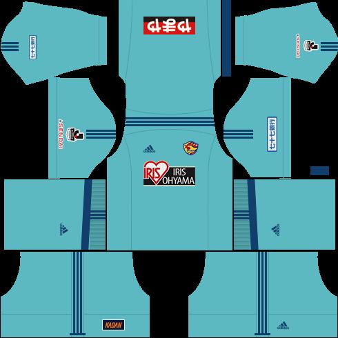 Kit-vegalta-sendai-dls-away-Gk-uniforme-goleiro-fora-de-casa-18-19
